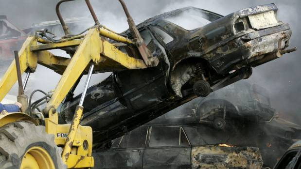Petrol-powered cars are set for the scrap heap in about eight years if a report out of the US is correct.