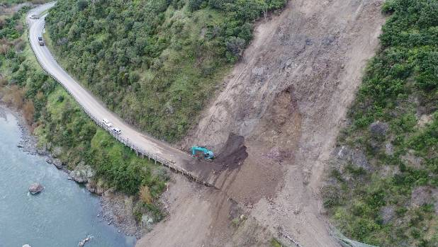 Geotechnical assessments have found a large section of the hillside through the Manawatu Gorge is unstable and could ...