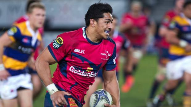 Pete Samu made his debut for Tasman after moving across from Australia in early 2014.