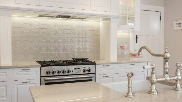 Traditional english kitchen looks right at home in a beautiful mt eden bungalow Kitchen design course auckland