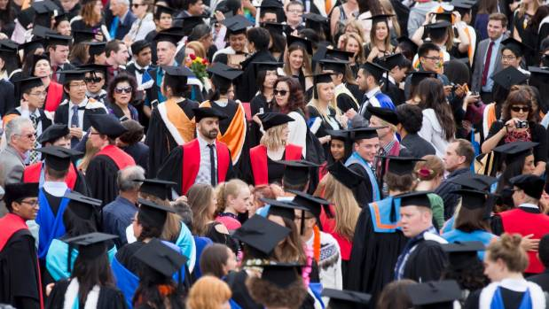A graduation ceremony for Victoria University. The access by Kiwis  to tertiary study in Australia has just got more ...