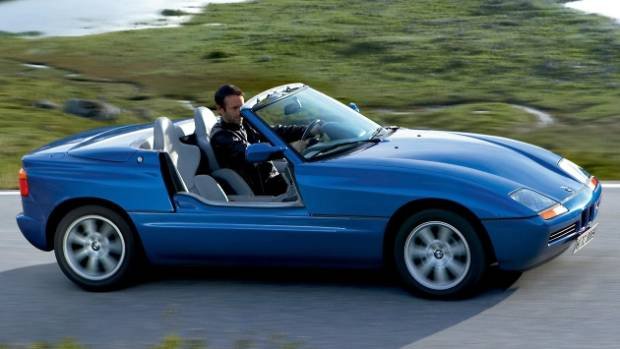 You could legally drive the BMW Z1 with the doors retracted. Any takers?