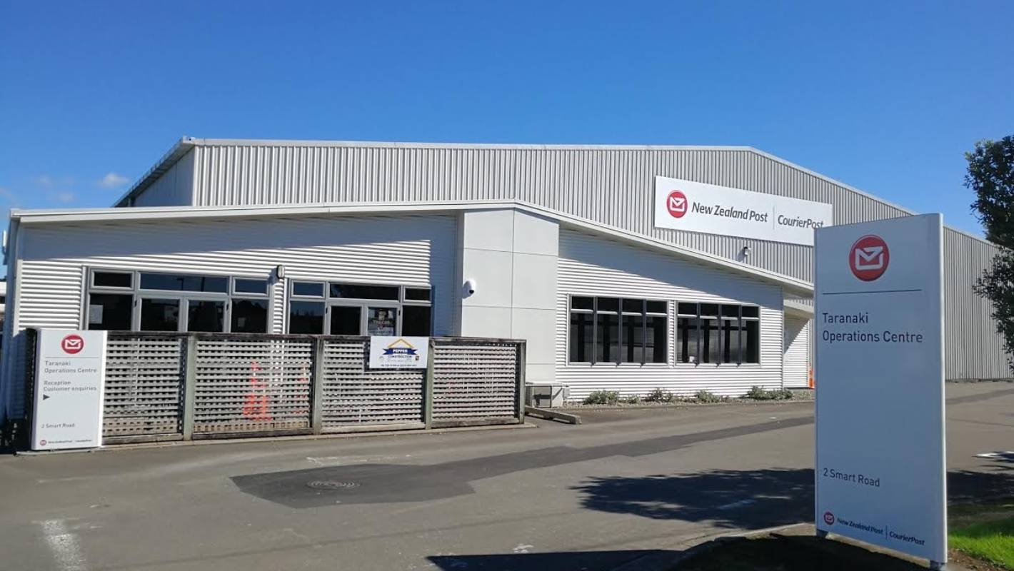 New Building Brings Taranaki S Nz Post Services Under One