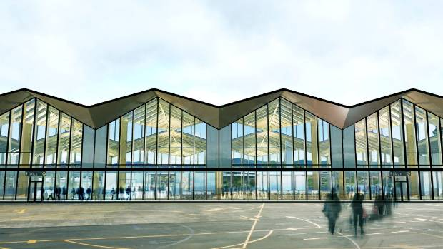 An image of the Nelson Airport terminal re-design by Studio Pacific Architects.