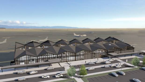 Images of Nelson Airport re-design by Studio Pacific Architects.