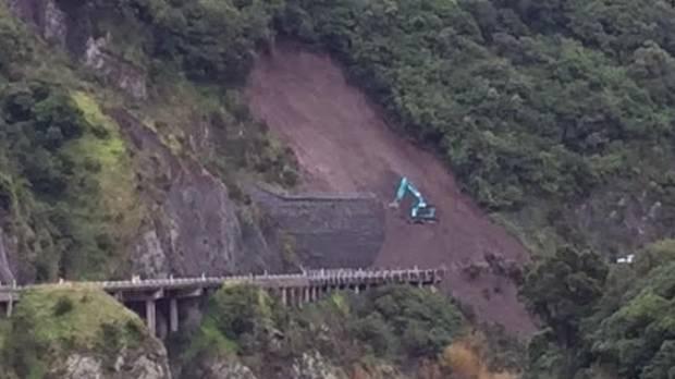 The latest slip in the Manawatu Gorge.