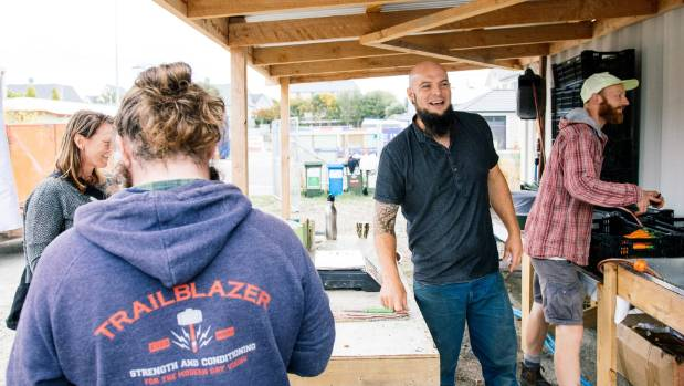 Cultivate Christchurch lends a hand to youngsters via urban gardening.