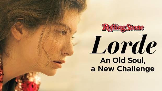 Lorde appears on the cover of Rolling Stone ahead of her second album's release.