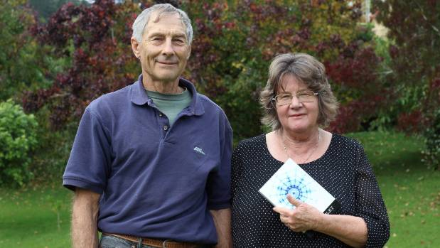 Mike and Laraine Coley have published their son Matthew's science fiction novel 'Cy'.
