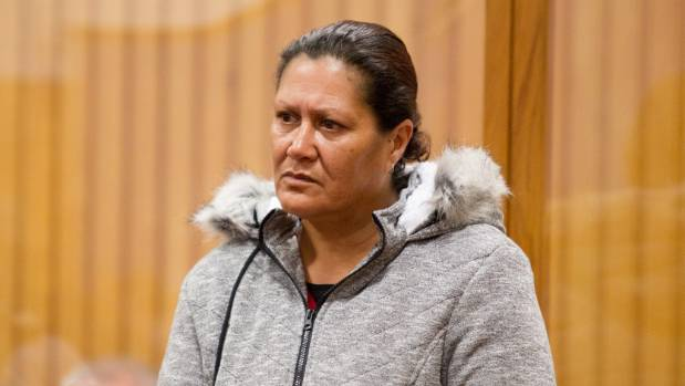 Donna Catherine Parangi is on trial in the High Cout in Rotorua charged with the manslaughter of her grandson.