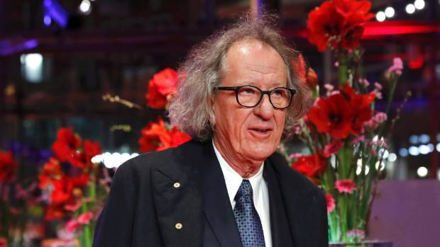 Actor Geoffrey Rush is one of only three  of the main cast to stay with the franchise.