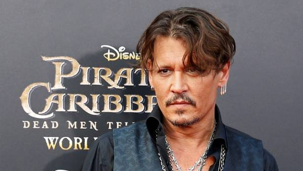 Actor Johnny Depp plays Captain Jack Sparrow in the Pirates of the Carribean.