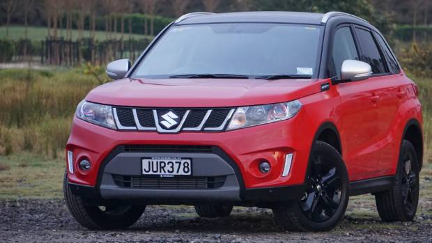 A reminder - this is what the Vitara, the other half of Suzuki's small SUV selection, looks like.