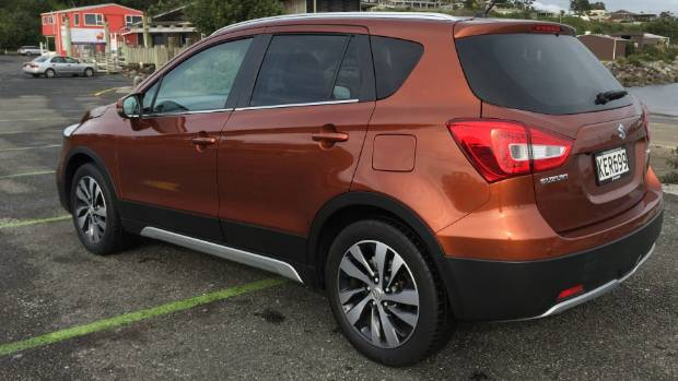 Rear view of the facelifted S-Cross.