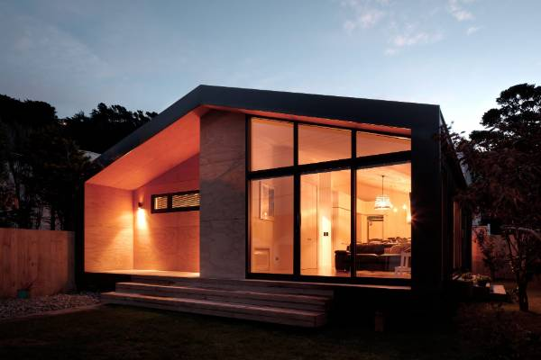 Seatoun House by First Light Studio won the Small Project Wellington Architecture Award