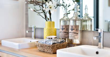 There's no need to feel guilty about restocking your bathroom with leftover hotel toiletries.