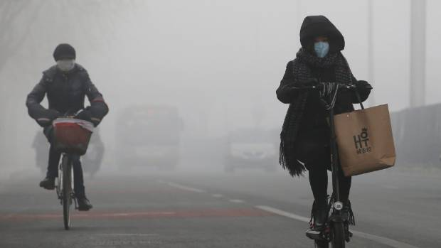 Pollution problems are driving many Chinese people away from the country.