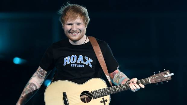 Tickets to Sheeran's concerts went on sale on Tuesday.