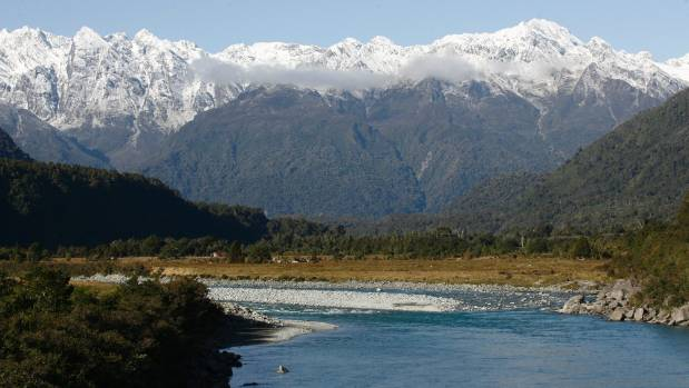 The Southern Alps near Whataroa on the West Coast, where the tests were done.