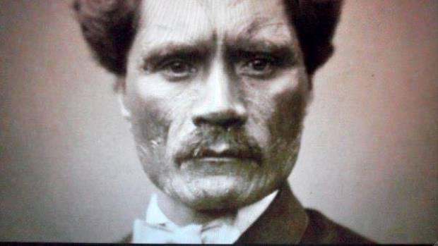 Wiremu Toetoe Tumohe - a photo taken in Britain 1860.