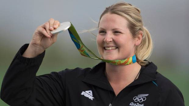 Natalie Rooney: Olympic silver medalist and South Canterbury Sportsperson of the Year.