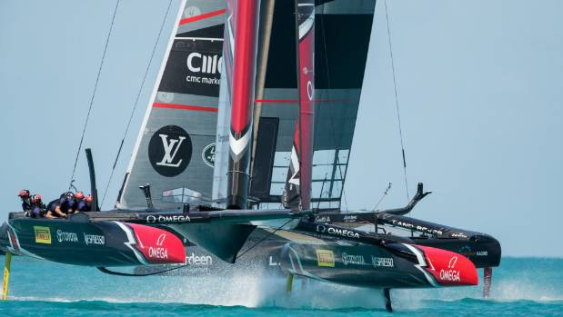 Will Damage Decide the America's Cup?