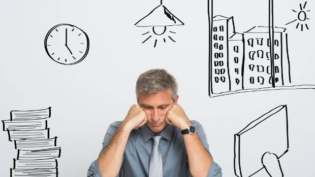 An excessive workload and a lack of sleep can cause burnout.
