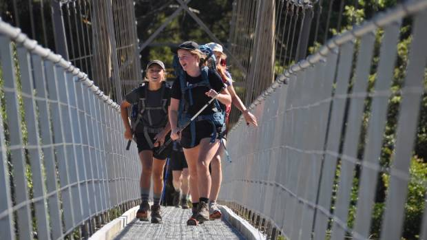 Walkers and mountain bikers on the Heaphy Track Great Walk help keep small towns like Karamea afloat financially.