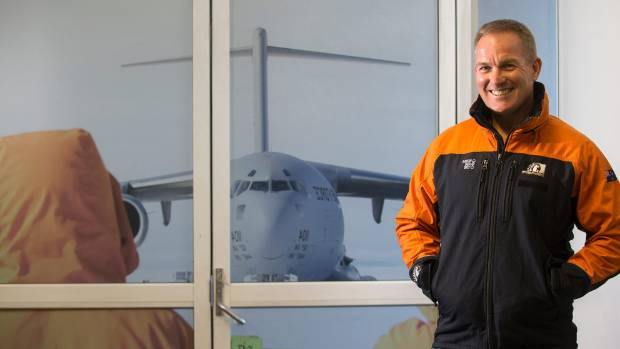 Antarctica NZ boss Peter Beggs has been to the ice 10 times in four years.