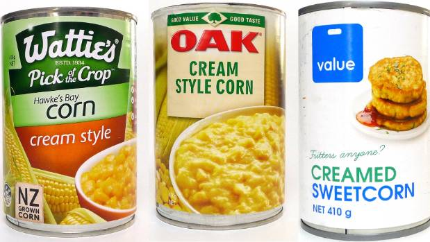 what is the best creamed corn one has less than 50 per cent actual