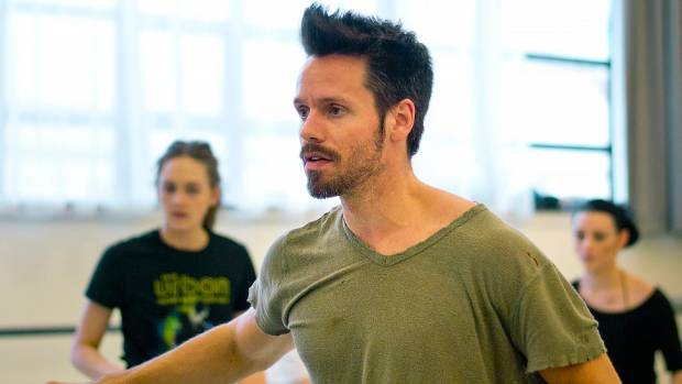 Swedish choreographer Alexander Ekman works with the Royal New Zealand Ballet.