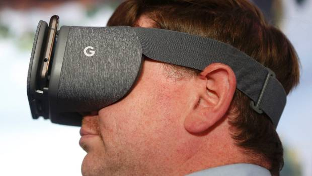 Google's Daydream View VR headset was unveiled in October 2016.