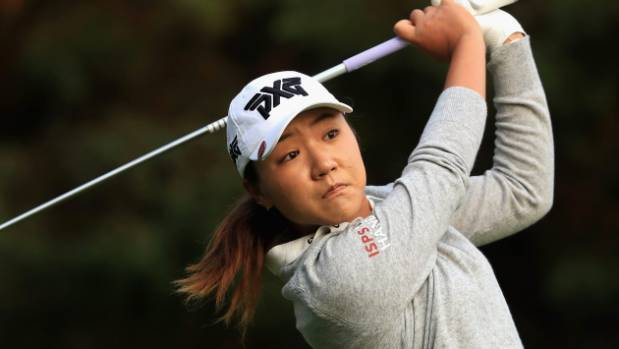 Lydia Ko is right in contention at the Kingsmill Championship.