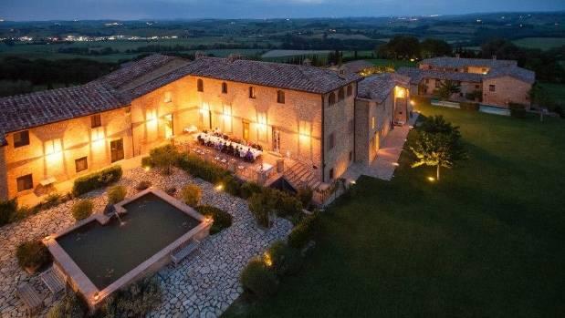 "Borgo Finocchieto is a restored eight hundred-year-old village, or ""borgo."""