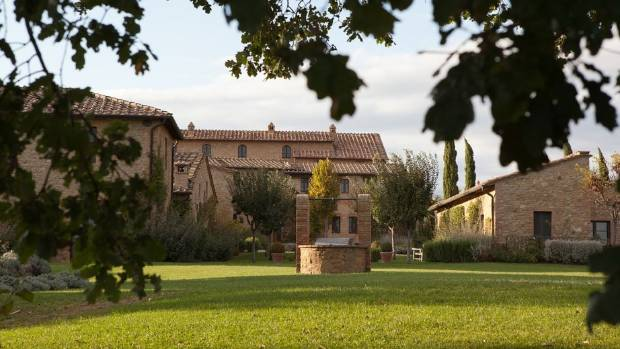 If you're looking for the 44th president, you'll find him relaxing under the Tuscan sun.