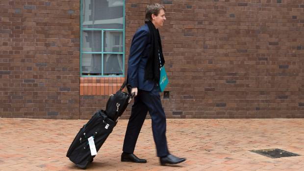 Colin Craig arriving at the Auckland High Court earlier in May 2017.