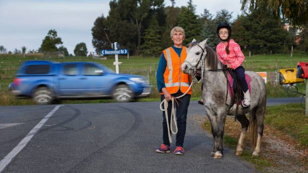 Timaru horse rider and teacher Linda Pullar no longer rides on the road. She only takes pupils such as Sophie Coleman, ...