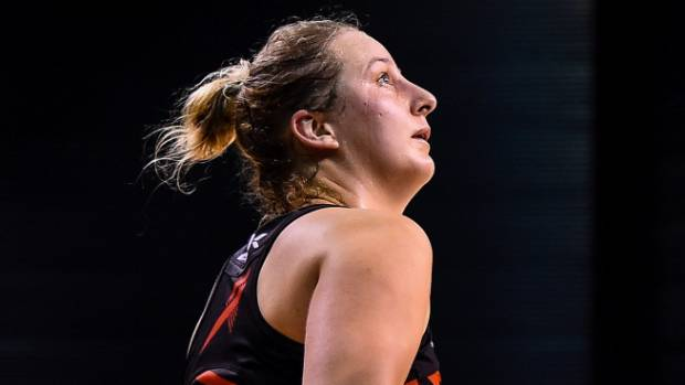 Goal shoot Ellie Bird gives the Tactix franchise optimism for the future.