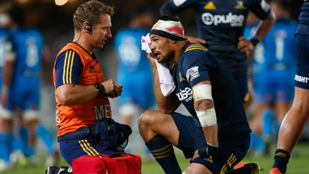 Shane Christie has had his fair share of injuries since joining the Highlanders in 2014.