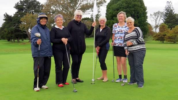 Christina Randell, left, Margaret James, Lal Craig,   Gweneth Baird, Rosemarie Tomlinson and Carol Craig.