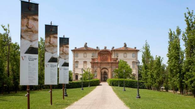 The official National Giuseppe Verdi Museum.