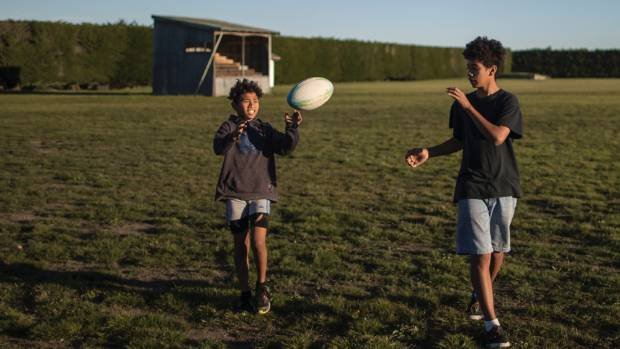 Brothers Tulaniu Sikaleti, 11, and Sikaleti Sikaleti, 13, could not play club rugby this season - but that changed overnight.