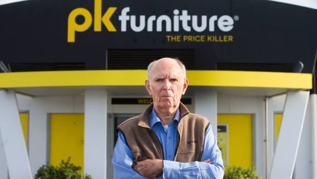 Martin Toop paid for a bookshelf at PK Furniture and is yet to receive it.
