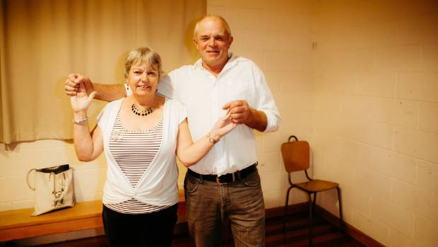 Sue and Mike Fisher drove from Nelson just for the Gourmet Country Line Dancers social.