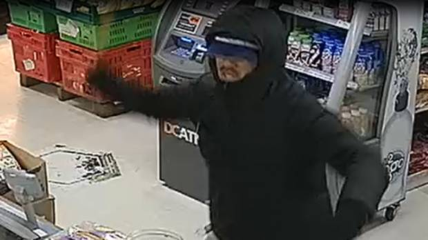 Police have released CCTV images of four men who robbed a Mangere dairy on Tuesday evening.