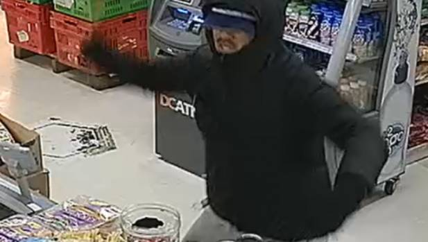 CCTV footage captured four young men violently robbing the Kingsford Superette in Mangere earlier this month.