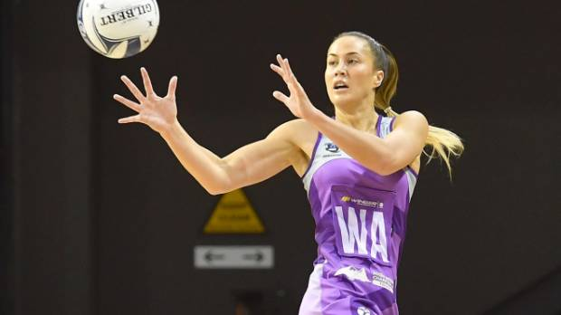 Courteny Tairi did her best to lift the Stars.