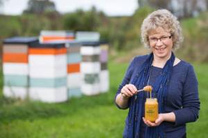 """Sweetree Honey keeps Stephanie Lynch busy. """"I'm doing all sides here, not just finance, and I love it – the production, ..."""