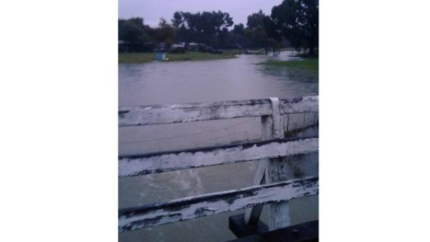 Flooding in Wairau Valley, Marlborough, sparked by heavy rain hitting the top of the South Island.