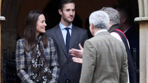 Pippa ties the knot with James Matthews this Saturday.